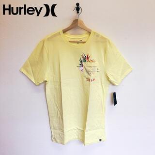 Hurley - 未使用 希少 Hurley ハーレー Tシャツ 半袖 丸首 イエロー系 M