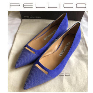 PELLICO - 57200円◇PELLICOペリーコ ANELLIフラットシューズ新品23.5