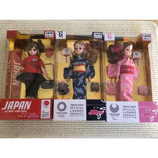 Takara Tomy - オリンピック リカちゃん3点セット
