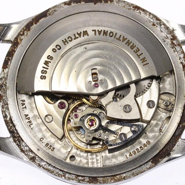IWC(インターナショナルウォッチカンパニー)のIWC シャフハウゼン オールドインター cal.853  メンズ 【中古】 メンズの時計(腕時計(アナログ))の商品写真