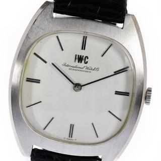 インターナショナルウォッチカンパニー(IWC)のIWC アンティーク K18WG cal.423  手巻き メンズ 【中古】(腕時計(アナログ))
