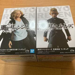BANDAI - 東京リベンジャーズ フィギュア 佐野万次郎 花垣武道 専用品