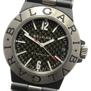 ブルガリ(BVLGARI)のブルガリ ディアゴノ チタニウム TI32TA ボーイズ 【中古】(腕時計(アナログ))