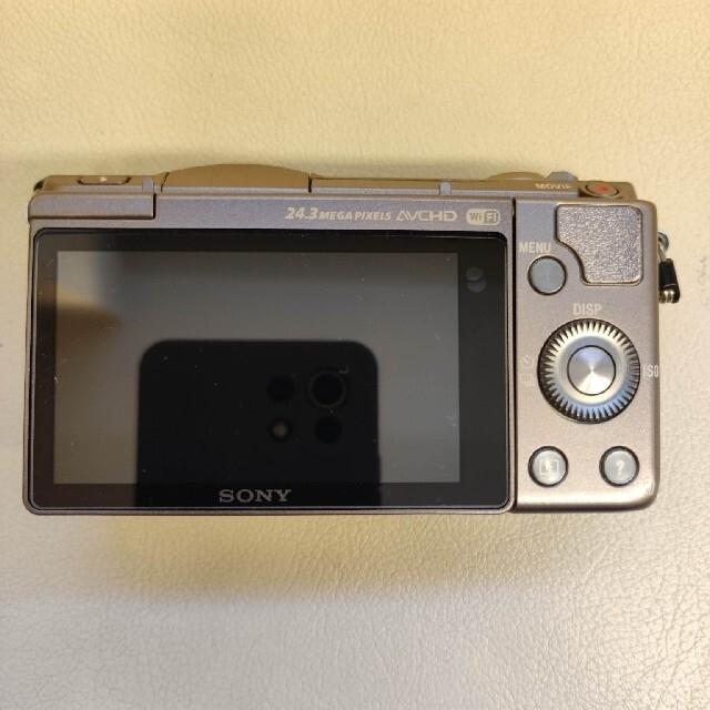 SONY(ソニー)の【トムさん様専用】SONY α5100 本体 ブラウン ショット数4,369枚 スマホ/家電/カメラのカメラ(ミラーレス一眼)の商品写真