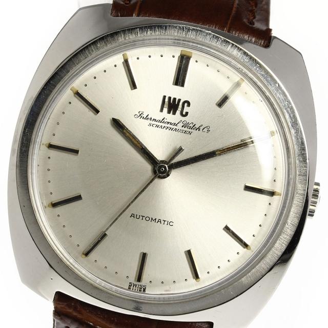 IWC(インターナショナルウォッチカンパニー)のIWC シャフハウゼン アンティーク オールドインター  メンズ 【中古】 メンズの時計(腕時計(アナログ))の商品写真