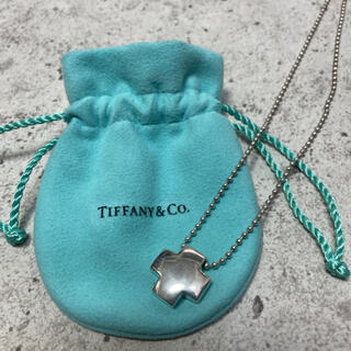 Tiffany & Co. - Tiffany ティファニー ネックレス ローマンクロス クロスネックレス