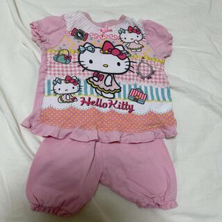 【サイズ90】半袖パジャマ キティちゃん  女の子