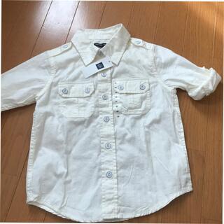 ベビーギャップ(babyGAP)のbaby Gap 綿シャツ 100サイズ(シャツ)