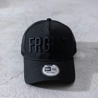 FRAGMENT - New era FRAGMENT メッシュキャップ  FRGMT