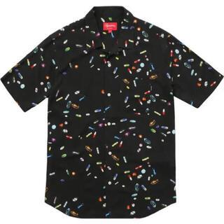 Supreme - Supreme Pills Rayon Shirt ブラック シャツ レーヨン