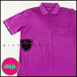 ナイキ(NIKE)の▼ NIKE golf purple polo shirt ▼(ポロシャツ)