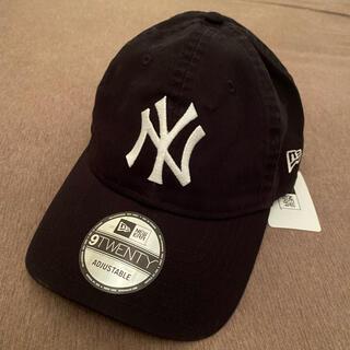 NEW ERA - 新品タグ付き NEW ERA 9twenty 黒ブラック キャップ 帽子 NY