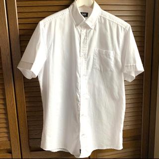 リー(Lee)のLee  ボタンダウン 半袖ホワイトシャツ(シャツ)