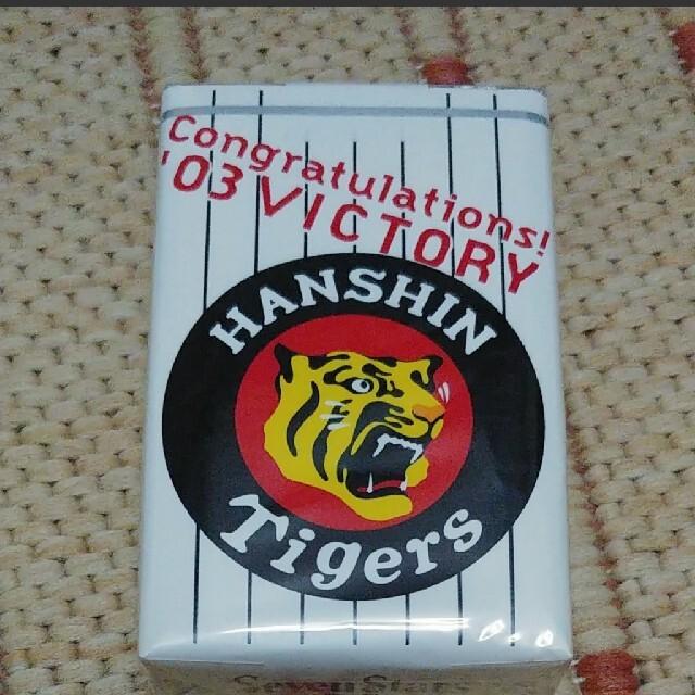 阪神タイガース(ハンシンタイガース)の2003年 阪神タイガース 優勝記念 セブンスター スポーツ/アウトドアの野球(記念品/関連グッズ)の商品写真