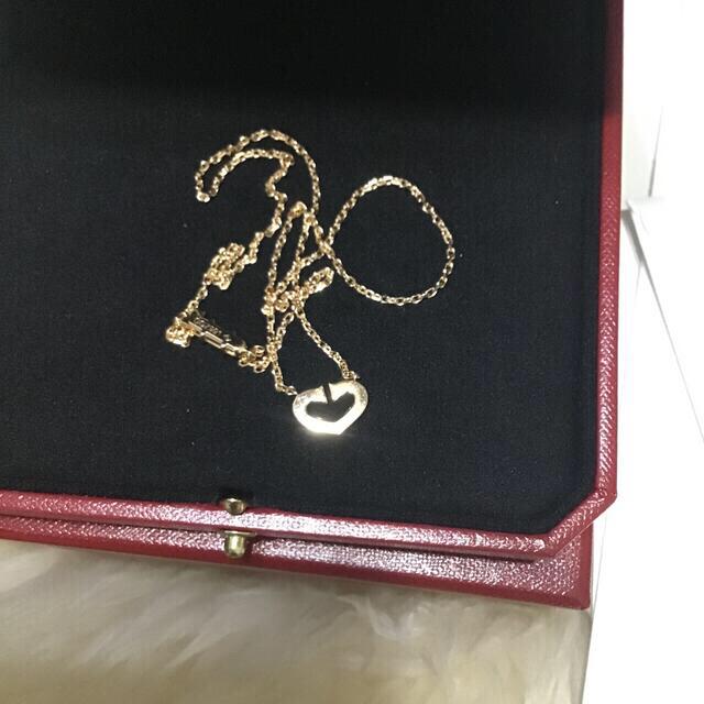 Cartier(カルティエ)のカルティエ ネックレス ほぼ新品 最終値下げ レディースのアクセサリー(ネックレス)の商品写真