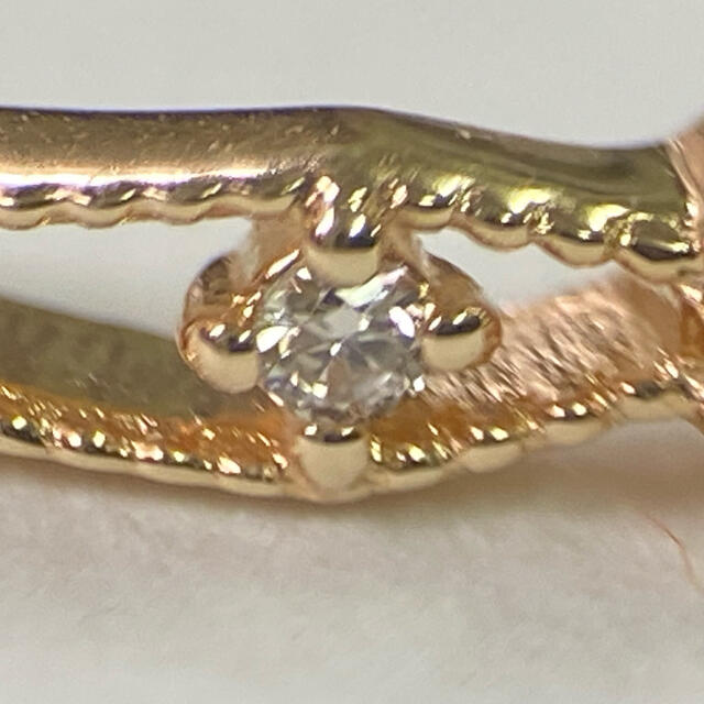 agete(アガット)のアガット K10 オパール リング レディースのアクセサリー(リング(指輪))の商品写真