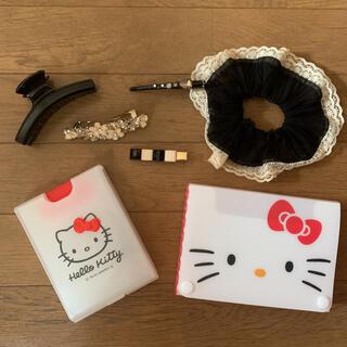 サンリオ - ヘアピン ヘアゴム ピン シュシュ セット キティ ケース まとめ売り