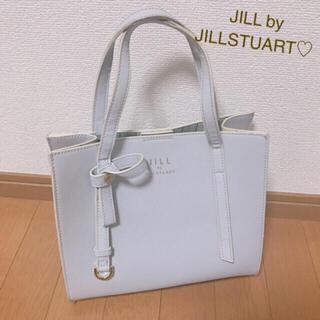 JILL by JILLSTUART - 7/31まで値下げ♡ ジルバイジルスチュアート♡ハンドバッグ♡ライトグレー