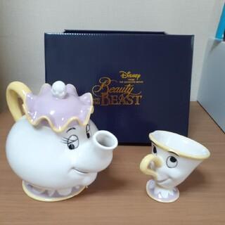 Disney - 美女と野獣 ポット夫人とティーポットセット
