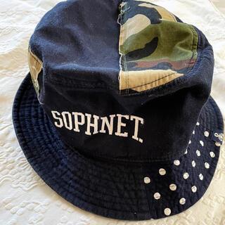 ソフネット(SOPHNET.)のsophnet ソフネット バケハ SOPH パッチワーク カモフラ チェック(ハット)