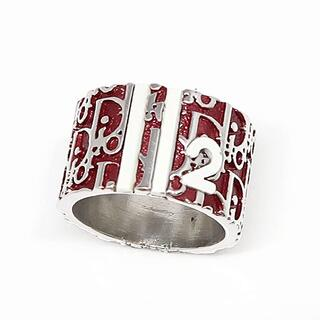 Dior - Dior クリスチャン ディオール トロッターリング 指輪 レッド