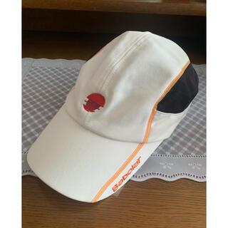 バボラ(Babolat)の【お買得】 フリーサイズ BABOLAT テニスウェア キャップ(帽子)(ウェア)