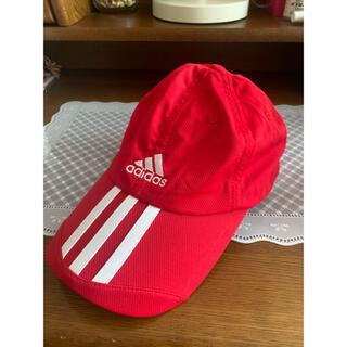 adidas - 【お買得】 フリーサイズ adidas テニスウェア キャップ(帽子)