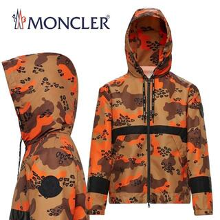 MONCLER - 16 MONCLER カモフラ ナイロンパーカー ウインドブレイカー size3