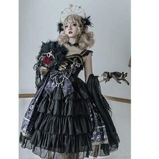 Angelic Pretty - 黒き貴族の令嬢のドレス【2073】