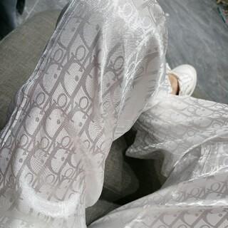 ディオール(Dior)の新品*Dior ディオールプリントワイドレッグパンツ(ニット/セーター)
