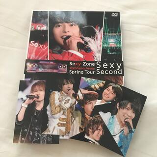 セクシー ゾーン(Sexy Zone)のSexyZone Spring Tour Sexy Second DVD(男性アイドル)