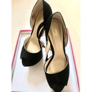ESPERANZA - エスペランサ 黒 ピンヒール ハイヒール キャバ靴