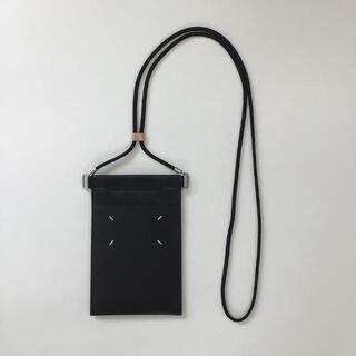 Maison Martin Margiela - メゾンマルジェラ レザー ブラック ユニセックス ショルダーバッグ
