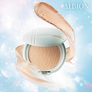 ALBION - 【新品・ケース&スポンジ付】アルビオン ホワイトレアエアー 01