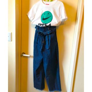 ナイキ(NIKE)のナイキTシャツ デニムパンツ コーデセット(Tシャツ/カットソー(半袖/袖なし))
