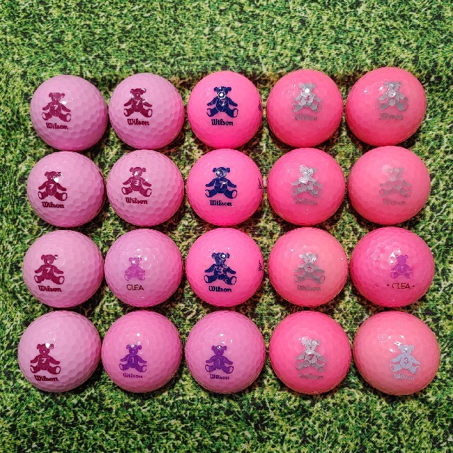 wilson(ウィルソン)のウィルソン ベアー ロストボール ゴルフボール 210 スポーツ/アウトドアのゴルフ(その他)の商品写真