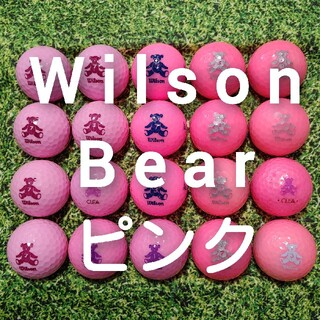 ウィルソン(wilson)のウィルソン ベアー ロストボール ゴルフボール 210(その他)