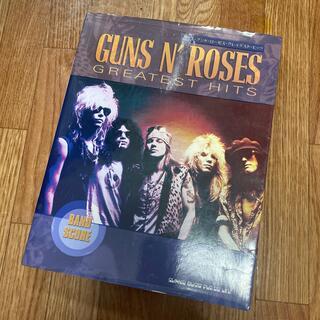 値下げ 送料無料 Guns N' Roses バンドスコア グレイテストヒッツ(ポピュラー)