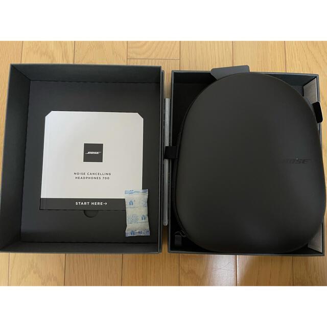 BOSE(ボーズ)の Bose Noise Cancelling Headphone 700 BLK スマホ/家電/カメラのオーディオ機器(ヘッドフォン/イヤフォン)の商品写真