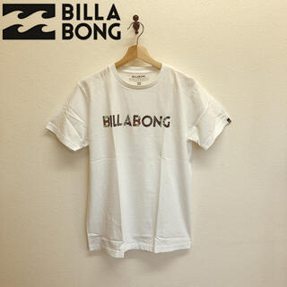 billabong - 未使用タグ付 BILLABONG ビラボン Tシャツ 半袖 丸首 ホワイト M