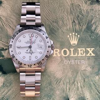 ROLEX - エクスプローラーII   16570 オールトリチウム 日本ロレックスにてOH済