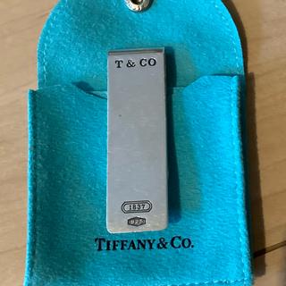 ティファニー(Tiffany & Co.)のOLD ティファニー T&CO 1837ロゴ マネークリップ (マネークリップ)