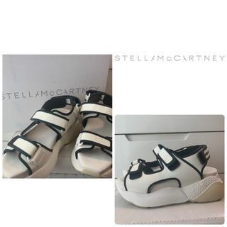 Stella McCartney - ステラマッカートニー ホワイトラバー サンダル