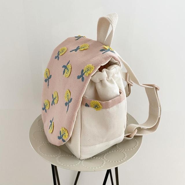 mina perhonen(ミナペルホネン)のミナペルホネン ハンドメイド ベビーリュック キッズ/ベビー/マタニティのこども用バッグ(リュックサック)の商品写真