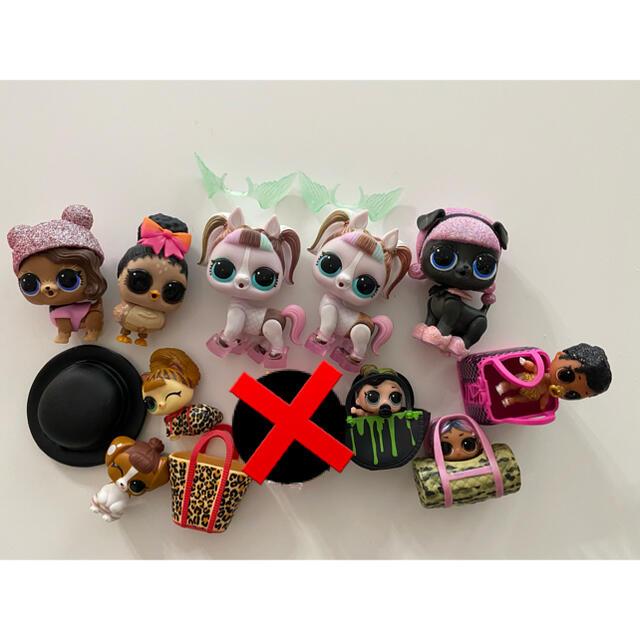 LOL  まとめ売り 10体 ユニポニー ユニコーン エンタメ/ホビーのおもちゃ/ぬいぐるみ(キャラクターグッズ)の商品写真