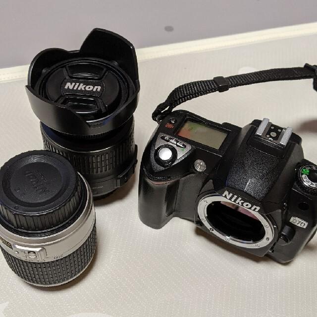 Nikon(ニコン)のNikon★d70レンズセット スマホ/家電/カメラのカメラ(デジタル一眼)の商品写真