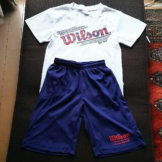 wilson - 【Wilson】Tシャツパンツ(セットアップ)140㎝