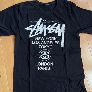 STUSSY - stussy world tour tee M