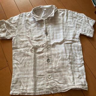 ムジルシリョウヒン(MUJI (無印良品))の無印 ダブルガーゼパジャマ 上着のみ(パジャマ)