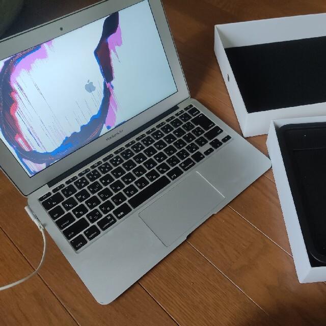 Apple(アップル)のジャンク MacBook Air (11インチ, Mid 2011) スマホ/家電/カメラのPC/タブレット(ノートPC)の商品写真